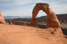 The Delicate Arch, Utah's state symbol, Arches National Park
