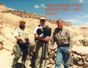 Brian Wilcox, Marianne and Bo Landin. San Juan Islands 1997