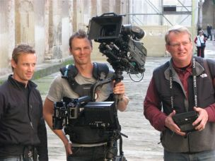 The crew in Cordoba: Johan bjerke, Jens Jansson and Bo Landin